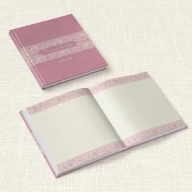 Βιβλίο Ευχών Γάμου MyMastoras® - Old Pink