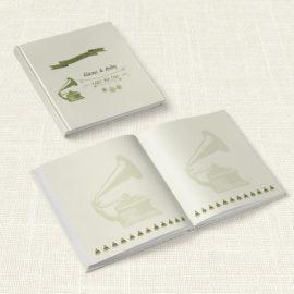 Βιβλίο Ευχών Γάμου MyMastoras® - Gramophone