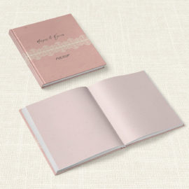 Βιβλίο Ευχών Γάμου MyMastoras® - Lace