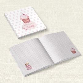 Βιβλίο Ευχών Βάπτισης MyMastoras® – Sweet girl