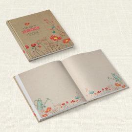 Βιβλίο Ευχών Βάπτισης MyMastoras® – Spring and Flowers
