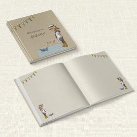 Βιβλίο Ευχών Βάπτισης MyMastoras® – Sailor Boy