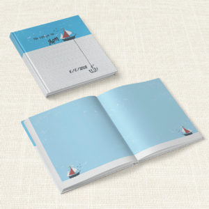 Βιβλίο Ευχών Βάπτισης MyMastoras® – Yachting