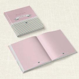 Βιβλίο Ευχών Βάπτισης MyMastoras® – Ribbon