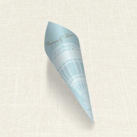 Χωνάκι MyMastoras®- Carte Postale Balloon