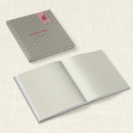 Βιβλίο Ευχών Γάμου MyMastoras® - Ribbon Roses