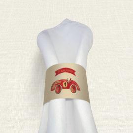 Δαχτυλίδι Πετσέτας Βάπτισης MyMastoras® – Formula 1