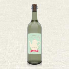 Ετικέτα Κρασιού MyMastoras®- Teapot