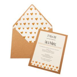 Προσκλητήριο MyMastoras®- Golden Hearts