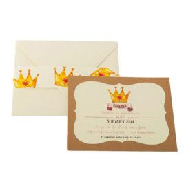 Προσκλητήριο MyMastoras® – My Princess
