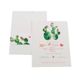Προσκλητήρια MyMastoras® – Cactus