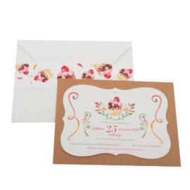 Προσκλητήρια MyMastoras® – Cupcake