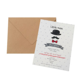 Προσκλητήρια MyMastoras® – Little Man