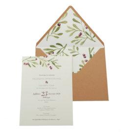 Προσκλητήρια Γάμου MyMastoras® – Σειρά Hani (300.004)