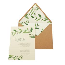 Προσκλητήρια Γάμου MyMastoras® – Σειρά Olivia (300.005)