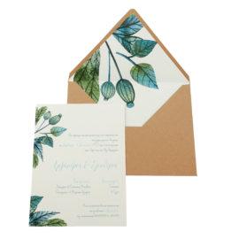 Προσκλητήρια Γάμου MyMastoras® – Σειρά Mab (300.006)
