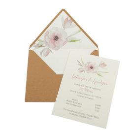 Προσκλητήρια Γάμου MyMastoras® – Σειρά Abramo (300.018)