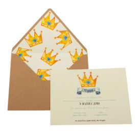Προσκλητήρια Βάπτισης MyMastoras® – Σειρά My Prince (350.003)