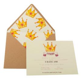 Προσκλητήρια Βάπτισης MyMastoras® – Σειρά My princess (350.005)