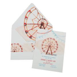 Προσκλητήρια Βάπτισης MyMastoras® – Σειρά Ferris Wheel 318.028