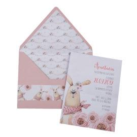 Προσκλητήρια Βάπτισης MyMastoras® – Σειρά Bunny Bunny 318.030